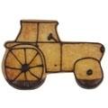 Traktori pikkuleipämuotti