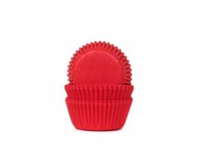 Mini-muffinssivuoka 60kpl/pkt, punainen