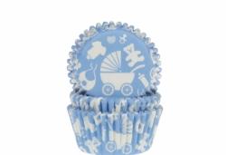 Baby muffinssivuoat 50kpl/pkt, sininen