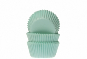 Mini-muffinssivuoka 60kpl/pkt, mintunvihreä