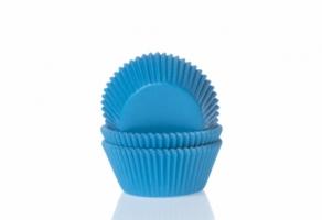 Mini-muffinssivuoka 60kpl/pkt, cyan blue