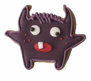 Monsteri pikkuleipämuotti B sininen