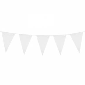 Valkoinen viirinauha 10m