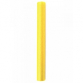 Organza 36cmx9m, keltainen