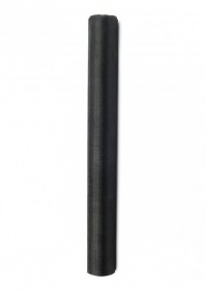 Organza 36cmx9m, musta