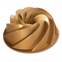 Nordic Ware, Heritage 2,4l kahvikakkuvuoka kultaisella viimeistelyllä