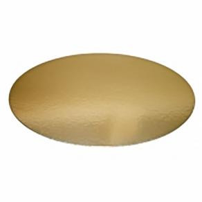 Kakkupahvi kulta/hopea ø 18cm