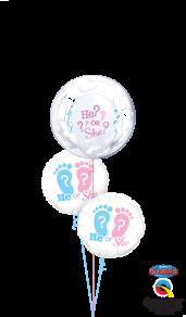 Decobubble, Baby footprints