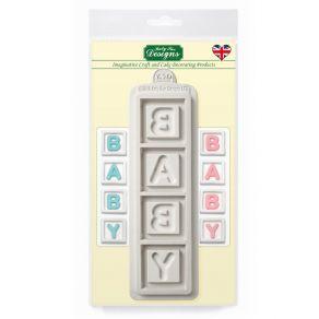 Baby laatikot silikonimuotti Katy Sue