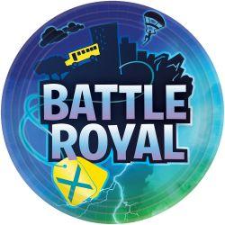 Battle Royal pahvilautaset 8kpl/pkt