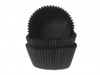 Muffinssivuoat 50kpl/pkt, Musta
