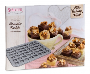Tarttumaton leivontavuoka Brownie-palat