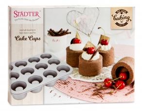 Tarttumaton leivontavuoka Cake Cups