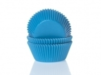 Muffinssivuoat 50kpl/pkt, cyan blue