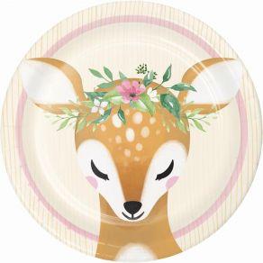 Deer Little One pienet lautaset 8kpl/pkt