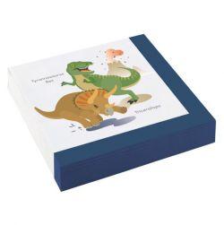 Dinosaurukset lautasliinat 20kpl/pkt