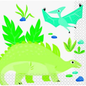 Dinosaurus pienet lautasliinat 16kpl/pkt U