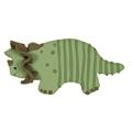 Dinosaurus tricratops pikkuleipämuotti