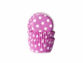 Dots minimuffinssivuoat 60kpl/pkt, pinkki