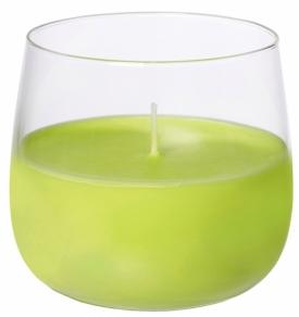 Ellie kynttilälyhty lasissa, kiwi 20h
