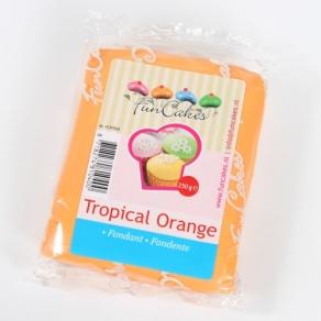 Oranssi sokerimassa