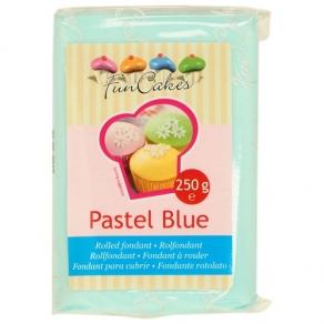 Pastel Blue vaniljanmakuinen sokerimassa 250g