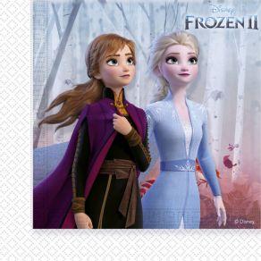 Frozen 2 lautasliinat 20kpl/pkt