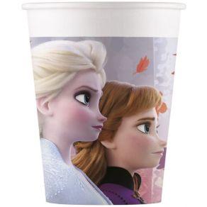 Frozen 2 pahvimukit 8kpl/pkt