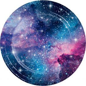Galaxy Party isot pahvilautaset 8kpl/pkt