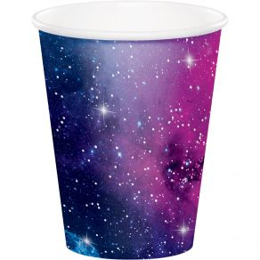 Galaxy Party pahvimukit 8kpl/pkt