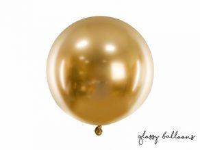 Jättipallo Glossy kulta 60cm