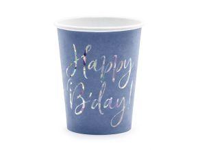 Happy Birthday muki sininen