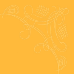 Havin kahviliina keltainen yksilöllisesti painettuna