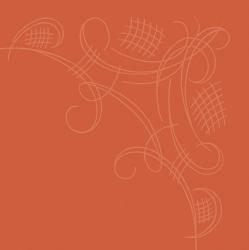 Havin kahviliina oranssi yksilöllisesti painettuna