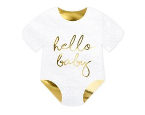 Hello Baby body servetit 20kpl/pkt