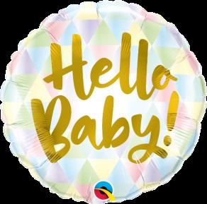 Hello Baby! perusfoliopallo