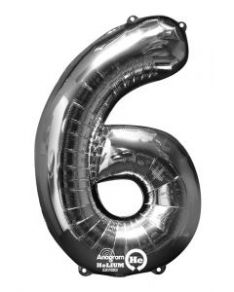 Numerofoliopallo 6, hopea 66cm