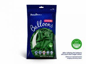 Kumipallot 10kpl/pss, pastel emerald green
