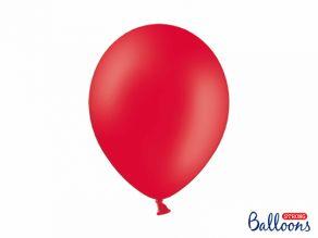 Kumipallot 10kpl/pss, pastel poppy red
