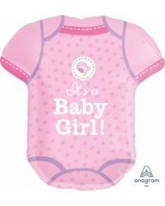 Muotofoliopallo baby girl