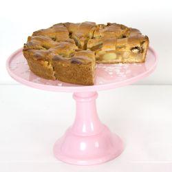 Jalallinen kakkulautanen 30cm, pinkki