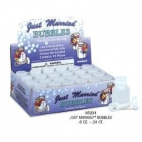Saippuakuplat Just Married 24kpl/pkt