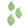 Kaarevat lehdet 3-osainen painomuottisetti