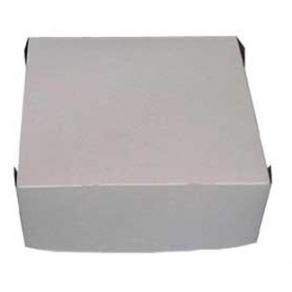 Pahvinen kakkulaatikko 28x28x13cm