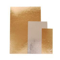 Kakkupahvi kulta/hopea 30x40cm