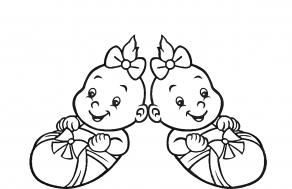 Painolaatta kaksoset omalla tekstillä