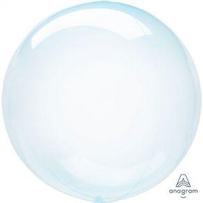 Kristallikuplapallo sininen 45cm