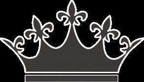 Painolaatta kruunu omalla tekstillä