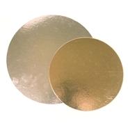 Kakkupahvi kulta/hopea ø 28cm