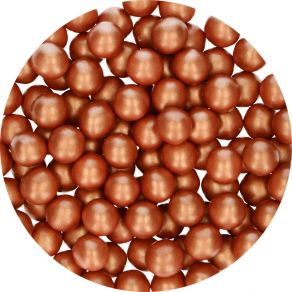 Candy Choco Pearls Large Copper 70g